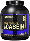 Optimum Nutrition Gold Standard Casein Protein Pulver (mit Glutamin und Aminosäuren. Eiweisspulver von ON) Chocolate Supreme, 53 Portionen, 1,82kg