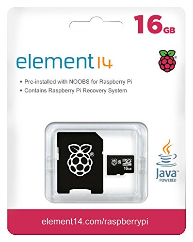 419paNPGG8L - Melopero Raspberry Pi 3 Official Starter Kit Black, con Cargador Oficial, Caja Oficial, microSD Oficial de 16GB con Noobs, Cable HDMI y disipadores