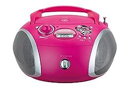 Kaufen Grundig GRB 2000 Tragbare Radio Boombox Pink/Silber