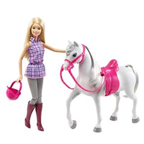 Barbie- Doll & Horse Muñeca Y Su Caballo, (Mattel DHB68)