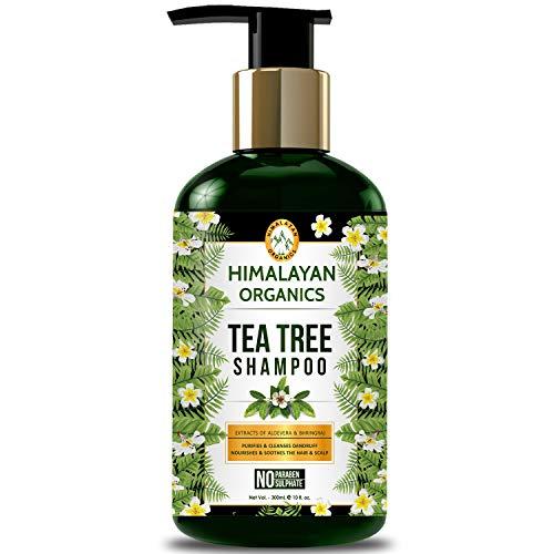 Himalayan Organics Tea Tree Shampoo - Anti Dandruff - No Parabens & No Sulphate - 300ml