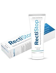 RectiStop (100 ml) - Dite Addio Alle Vostre Emorroidi in Meno di 30 Giorni! La Crema RectiStop è la Soluzione!