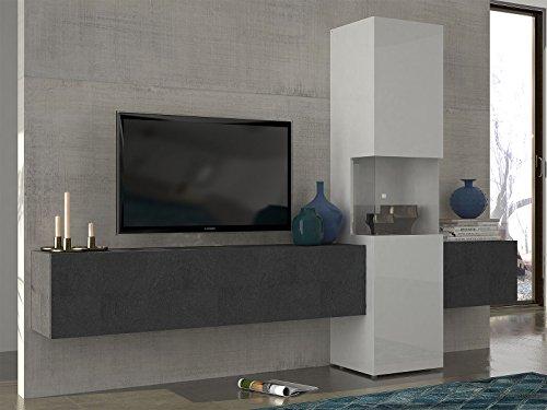 Wohnwand Mediawand Wohnzimmerschrank Fernsehschrank TV Schrank Incontro I