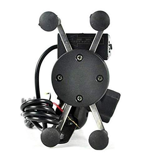 Generic Bike Mobile Charger Universal Bike Cell Phone Spider Bike Multi-Functional Mobile Holder X Grip Handlebar