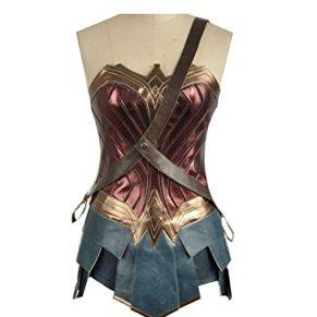 Cosplayfly Wonder Woman Disfraz de Cosplay para Adultos Mujer Fiesta de Halloween de Vestir