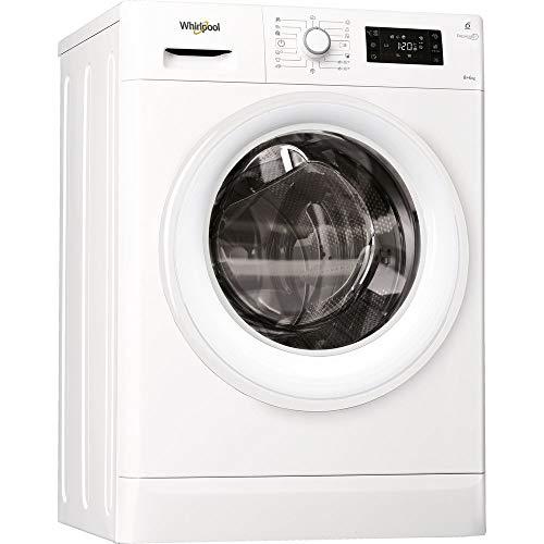 Whirlpool FWDG86148W EU lavasciuga Caricamento frontale Libera installazione Bianco A