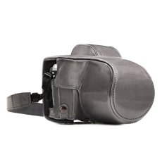 MegaGear MG1348 Estuche para cámara fotográfica - Funda (Funda, Olympus, OM-D E-M10 Mark III (14-42mm), Tirante para Hombro, Gris)