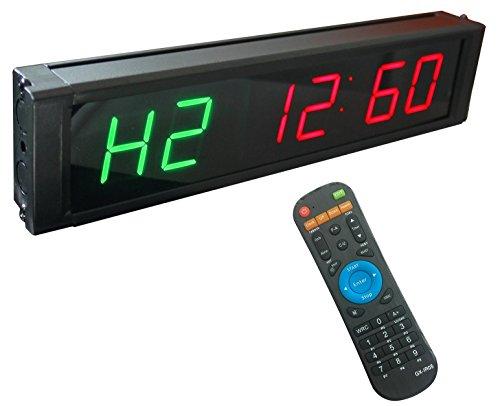 812e8bb4743c4d Ganxin, orologio a LED, formato orario 12/24 ore, a 6 cifre, conto ...