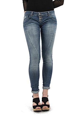 Please Damen Jeanshose Gr. Large, blau