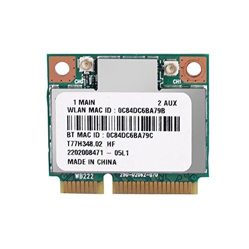 Duokon Scheda di Rete WiFi Atheros AR9462 AR5B22 Mini PCI-E 802.11N WiFi WLAN Card Scheda Wireless...