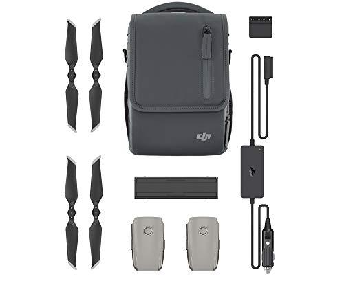 DJI Mavic 2 Fly More Kit - Include 2 Intelligent Flight Battery, 1 Caricabatterie Multiplo, 1 Caricabatterie da Auto, Eliche Low-Noise e 1 borsetta da trasporto