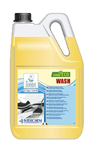 Verde Eco Wash detergente ecologico per lavastoviglie e lavabar professionali - confezione : 2...