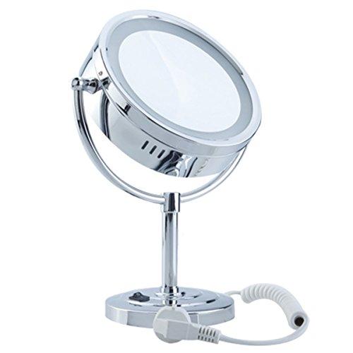 DXP-LED-Kosmetikspiegel-Schminkspiegel-Standspiegel-tragbar-7-Fach-Vergrerung-ROHS-YTL9700