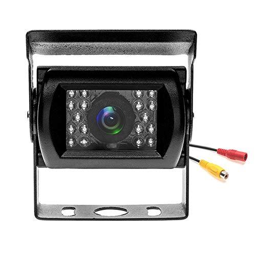 PolarLander Universal Car Rear View Camera Truck Backup Camera Heavy Duty 18 LED IR Night Vision 12V 24V