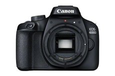 Canon EOS 4000D Cuerpo de la cámara SLR 18MP 5184 x 3456Pixeles Negro - Cámara Digital (18 MP, 5184 x 3456 Pixeles, Full HD, 436 g, Negro)