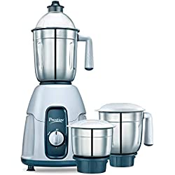 Prestige Stylo (750 Watt) Mixer Grinder with 3 Stainless Steel Jar