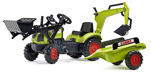 Falk 2040N Pedal Tractor Juguete de Montar - Juguetes de Montar (500 mm, 420 mm, 80 cm, 10,5 kg, 11,6 kg)
