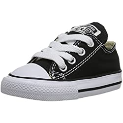 Converse Ctas Core Ox, Unisex - Kinder Sneaker, Schwarz (Noir), 24 EU
