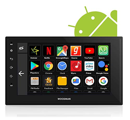 Woodman Neo2 Android 8.1 with Gorilla Glass Universal Car Stereo Double Din (Full HD) (2 GB/ 16 GB)