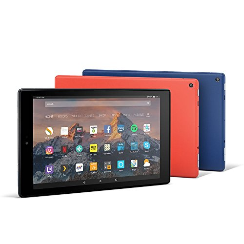 Fire HD 10 Tablet, 1080p Full HD Display, 32 GB, Black-with Special Offers 8  Fire HD 10 Tablet, 1080p Full HD Display, 32 GB, Black-with Special Offers 41B1zGmJXoL