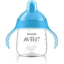 Philips Avent Magic - Taza antigoteo de 260 ml, color azul