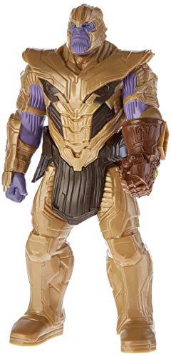 Hasbro Marvel Avengers Endgame - Thanos Titan Hero Deluxe compatibile con Power FX (Action Figure da...