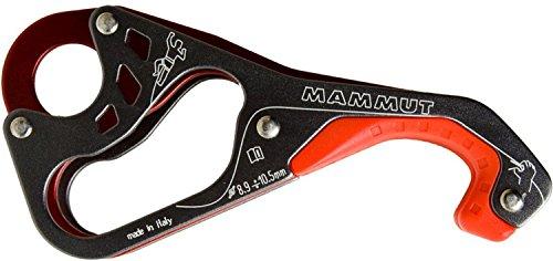 Mammut 2210-01010-0044 Asegurador, Unisex Adulto, Negro/Rojo, Talla Única