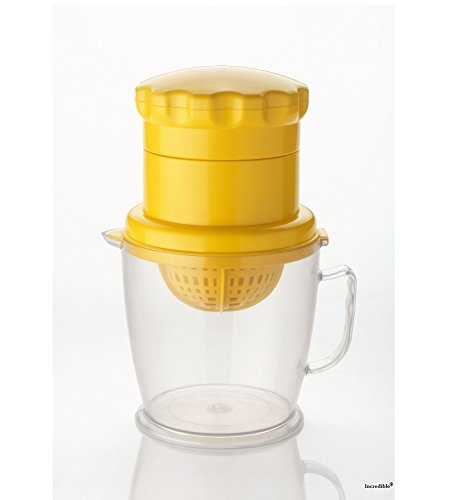Incredible Juicer 2in1 for Fruit & Vegetable,Yellow