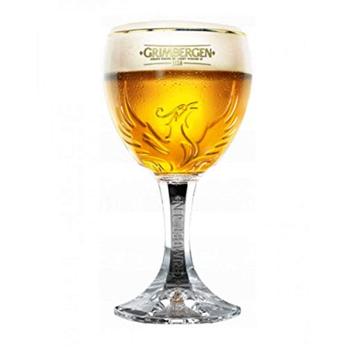 TUFF LUV Official Grimbergen Beer Glass/Barware 2019-33cl
