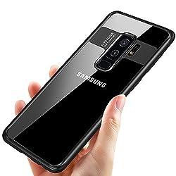 Kaufen Samsung Galaxy S9 Plus Handyhülle, Tronisky Galaxy S9 Plus Silikon Hülle Premium Bumper Case Kratzfest Anti-shock TPU Tasche Case Ultra Dünn Schutzhülle für Samsung Galaxy S9 Plus Case Cover - Schwarz