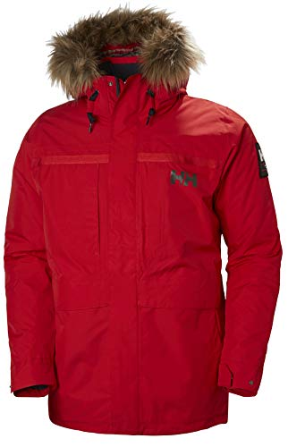 Helly Hansen - Giacca costiera 2 Parka, Uomo, Flag Red, L