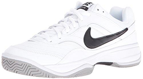 Nike Court Lite, Scarpe da Tennis Uomo, Bianco (White/Black/Medium Grey 100), 38.5 EU