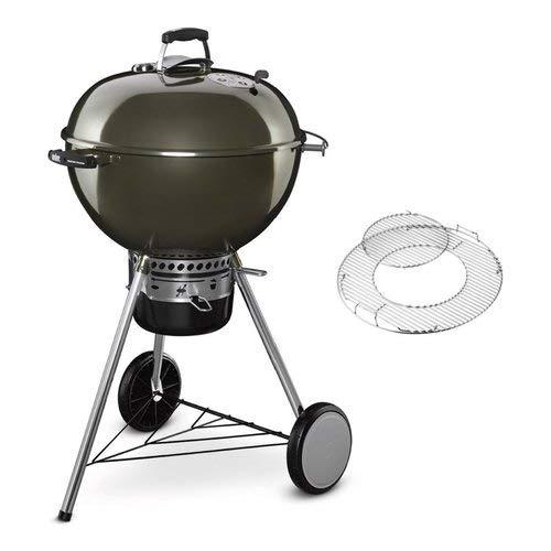 Weber 14501004 Master-Touch GBS Barbecue à Charbon Noir Diamètre 57 cm