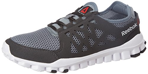 Reebok Men's Travel Tr 1.0 Asteroid Dst, Coal, Wht and Blk Nordic Walking Shoes - 10 UK/India (44.5 EU) (11 US)