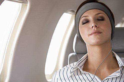 AcousticSheep souple, FIN sleepp Smartphones Classic Breeze Polyester-Bandeau avec écouteurs intégrés pour Smartphone et Tablette 26