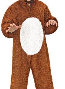 WIDMANN 9765P - Niño máscara del traje de perro mono, alrededor de 134 cm