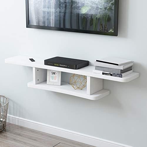 Mensola Galleggiante Mobile TV Wall Mount Mensola Supporto per Accessori TV Router WiFi TV Box...