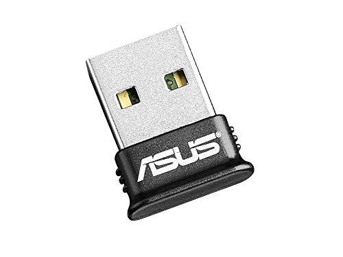 ASUS BT400 - Adaptador de red (Bluetooth 4.0, USB 2.0 Nano), negro