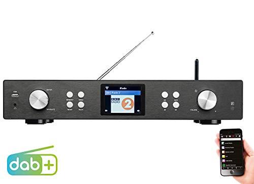 VR-Radio Internet Tuner: Digitaler WLAN-HiFi-Tuner mit Internetradio, DAB+, UKW, MP3, Streaming (Internet Radio Tuner)