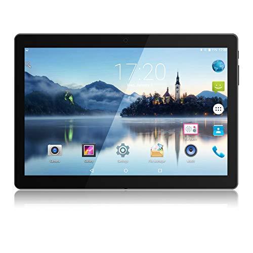 PADGENE - Tablet PC Android con display HD da 10.1'', risoluzione da 1280x800, processore Quad Core,...