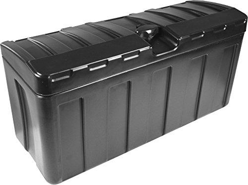 Deichselbox/Staubox für Pkw Anhänger, zum Transport von Werkzeugen & mehr, Abschließbar und Wetterbeständig (63 x 24 x 31.5 cm)
