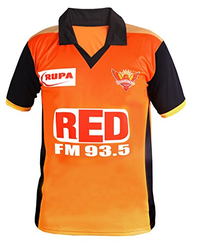 Sunrisers Hyderabad Ipl T-Shirt for Men and Women (Small : Size)