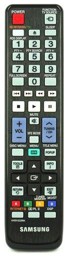Telecomando per Samsung HT-C6800 Home Theatre System - Con due batterie AAA 121AV incluse