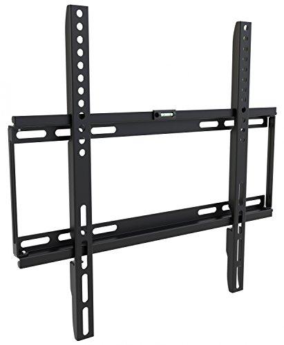 RICOO Supporto TV a parete fisso F0144 non orientabile per schermo PC Plasma Smart OLED curvo...