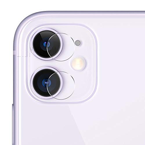 ILOFT Camera Tempered Glass for iPhone 11 (Camera Tempered Glass only)
