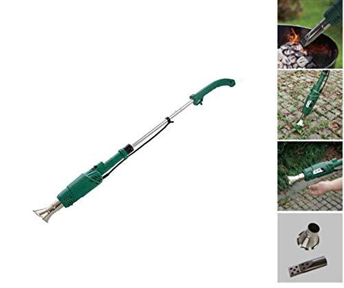 Herzberg HG-6007 - Quemador eléctrico de malvas Hierbas 2000 W