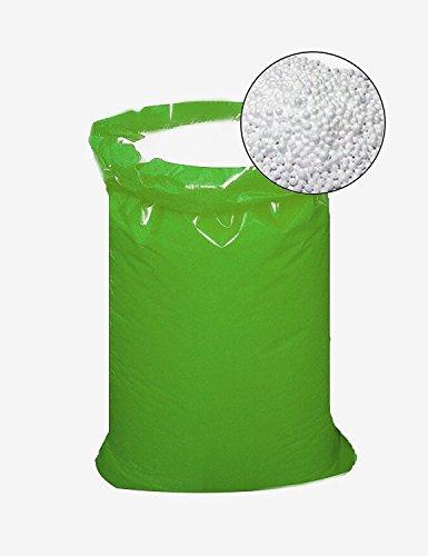 IMBALLAGGI 2000 - Sacco Palline Polistirolo per Riempimento Pouf - 500L - Sfere per Riempimento, Imballaggio e Isolamento - 1 Sacco Rinforzato