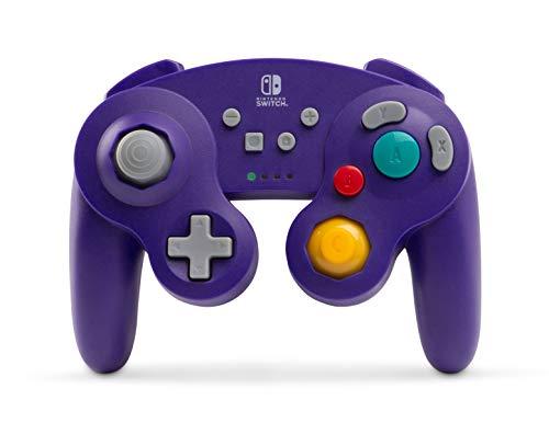 NSW Wireless Controller - GameCube Style (Purple)