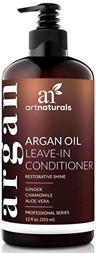 ArtNaturals Arganöl Leave In Conditioner - (12 Fl Oz / 354ml) - Haar-Creme mit Aloe Vera und Vitamin E
