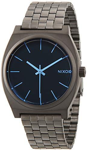 Nixon A0451427-00 - Orologio da polso uomo, acciaio inox, colore: Gun metal
